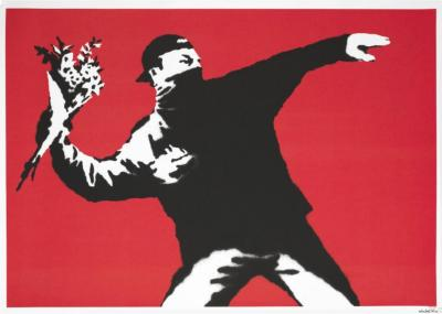 A work of Banksy