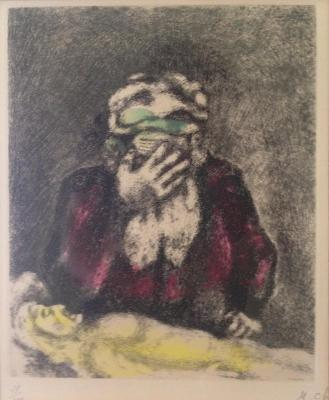 A work of Marc Chagall