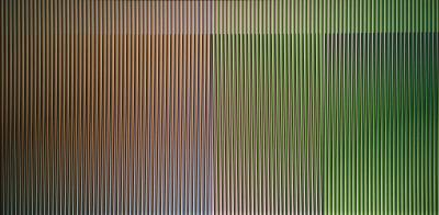 A work of Carlos Cruz-Diez