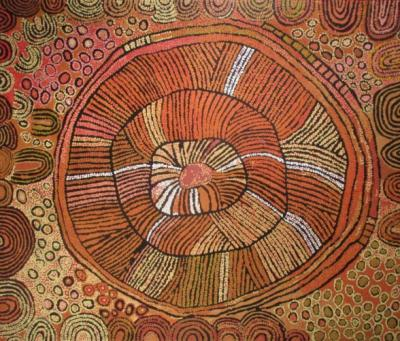 A work of Naata Nungurrayi