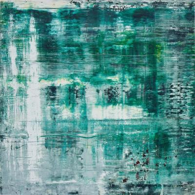 A work of Gerhard Richter